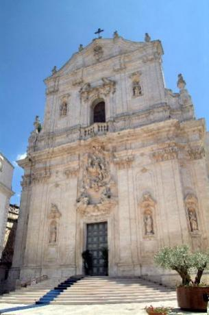 Hotel near the Cathedral of Martina Franca