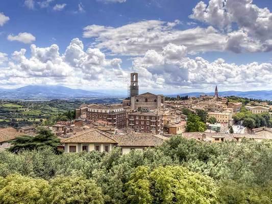 Veduta Perugia Città d'Arte