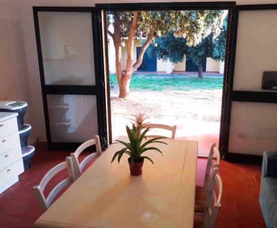 Appartamento vacanze con giardino villaggio Oristano Sardegna