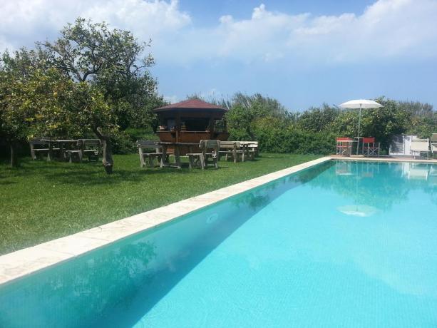 Farm house in Sicilia con piscina e ristorante