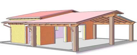 Casa prefabbricata in umbria e toscana sistema abitativo for Case modulari costi