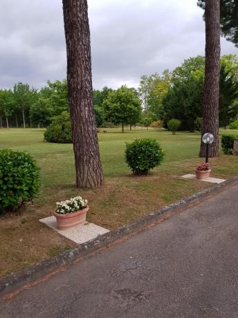 Grande Parco in Hotel sul Chiascio vicino Assisi
