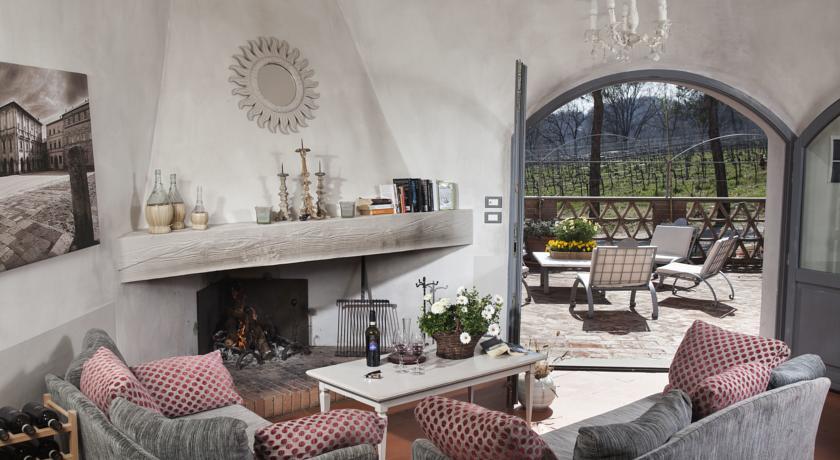 soggiorno villa con terrazza