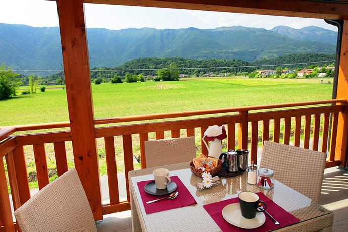 Appartamento in Friuli con vista montagne