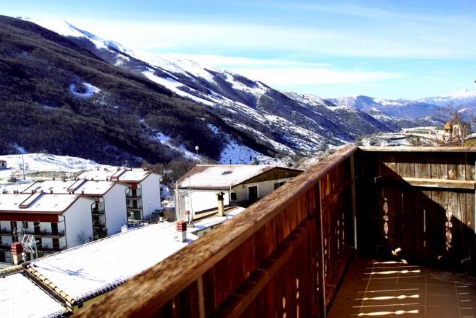 Camere con terrazzo panoramico