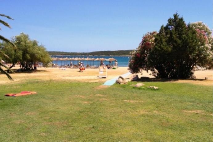 Albergo con spiaggia privata ad Arzachena