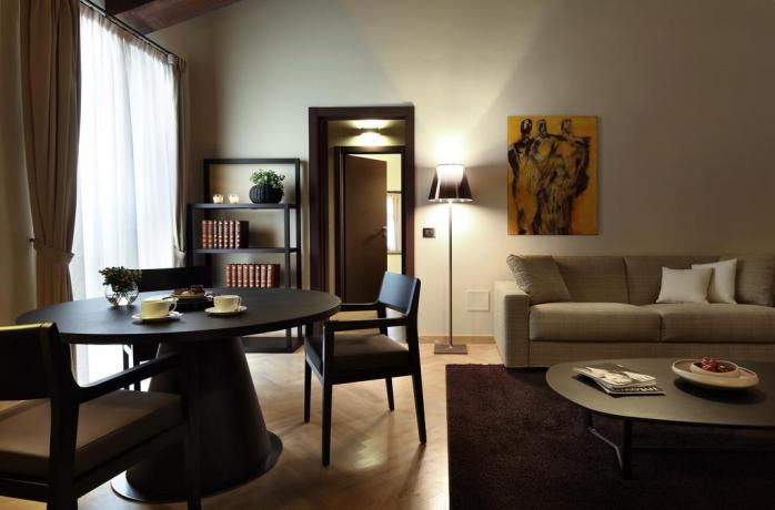 Suite conte salotto albergo 5 stelle Perugia