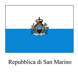 The Flag of San Marino