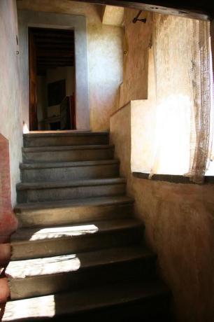Scalinata appartamento relais Calenzano