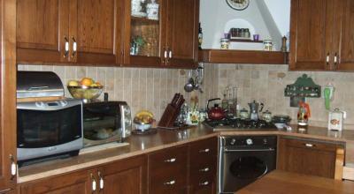 Cucina della villa completamente attrezzata