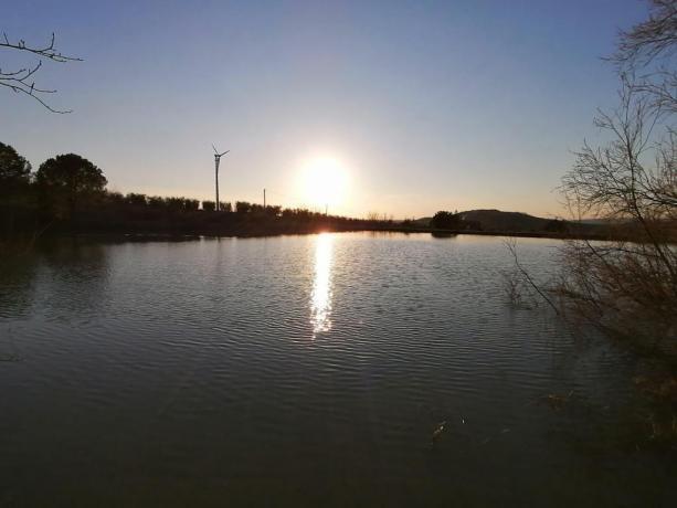 Agriturismo con lago pesca sportiva Maremma Toscana