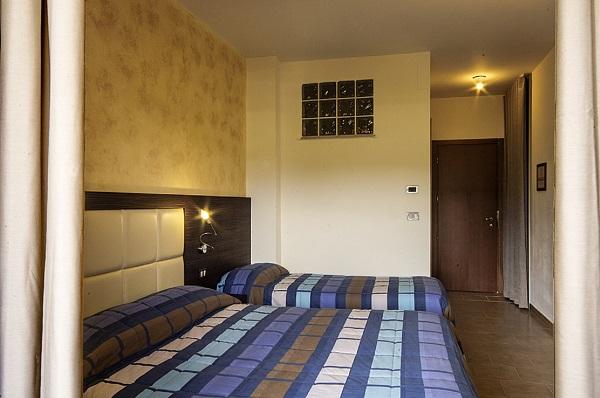 Spaziose camere per famiglie