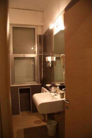 bagni privati delle camere executive in Hotel