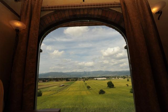 Vista panoramica dall'appartamento Magnolia