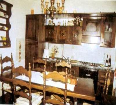 cucina attrezzata e sala pranzo
