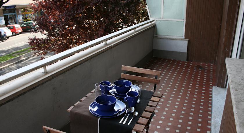 Colazione in terrazza al B&B a Roma