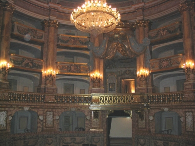 The theatre of the Casle of Caserta