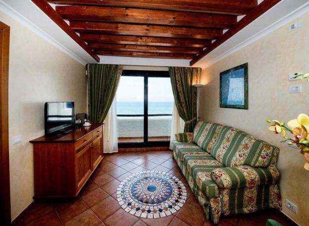 Suite con Terrazzo vista mare e idromassaggio Sabaudia