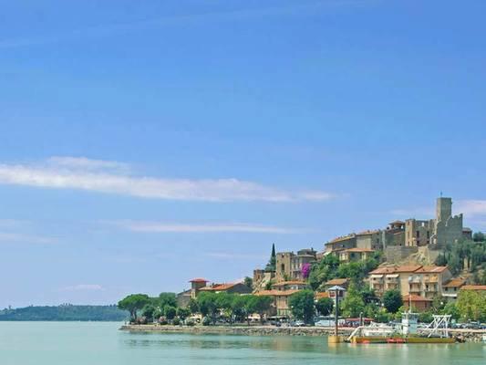 Lago Trasimeno e Isole a Perugia Umbria