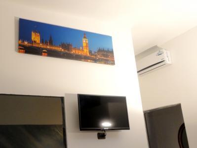 """Camera Londra con condizionatore e TV LED 32"""""""