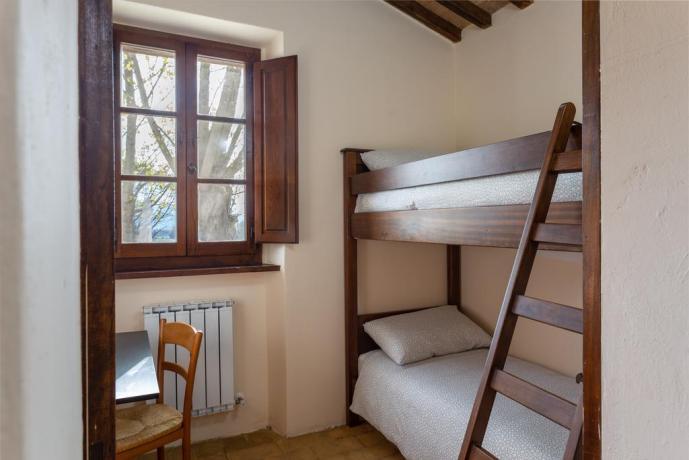 Appartamento con Letto a Castello