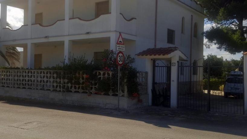 Ingresso Villa Vacanze 100mt dal mare sul Gargano