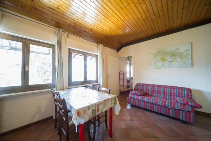 Bilocale-castello tipo P Bardonecchia con divano letto 6persone