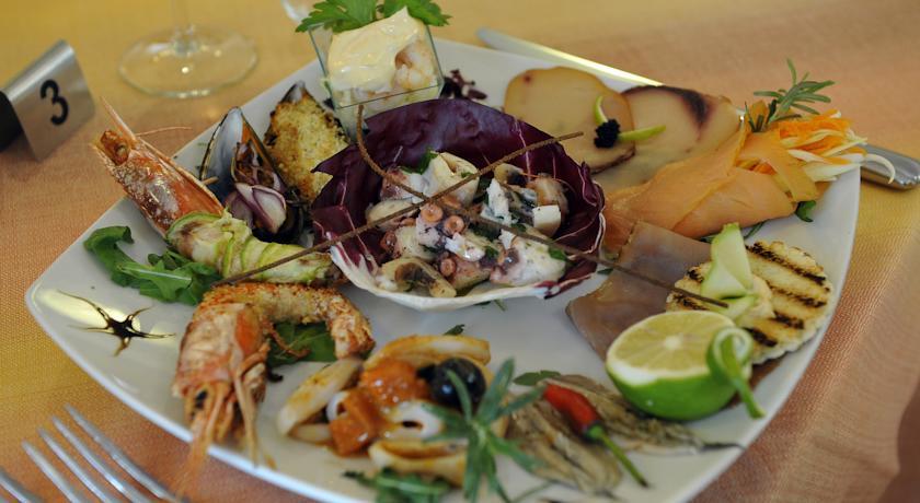 Piatti di mare e di terra