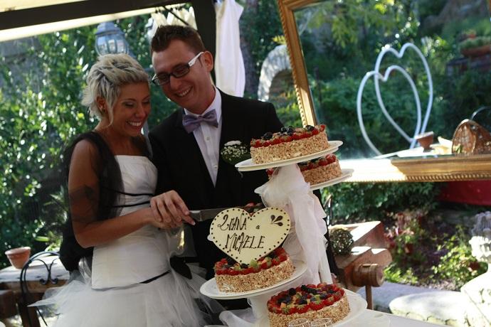 Matrimonio nell'albergo a Rivignano