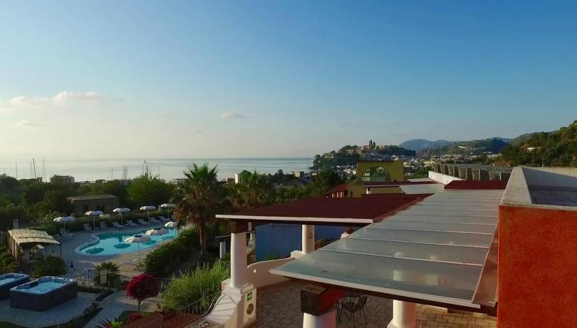 Arcipelago isole Eolie - Hotel vista mare