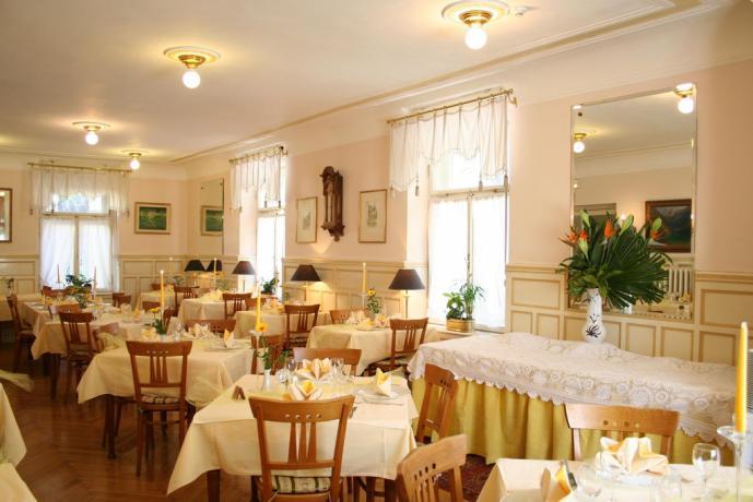 Hotel a Merano con sala ristorante