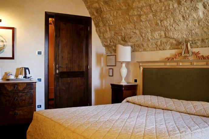 Hotel 4 stelle a Gubbio, Camere Matrimoniali