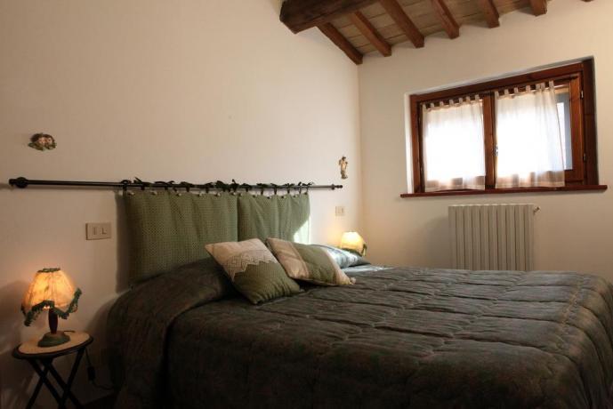 Letto Matrimoniale Bilocale in Umbria