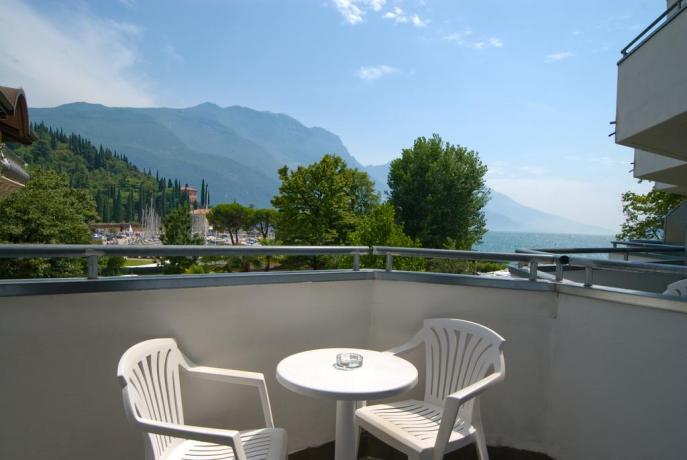 Appartamenti con Balcone sul lago, Riva del Garda