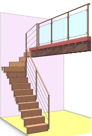 s2-d51 scala prefabbricata disegni