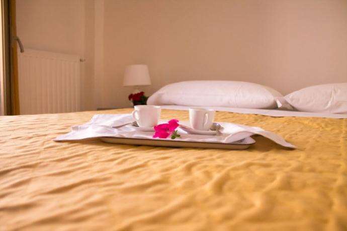 Camera Romantica in Hotel a Fiuggi