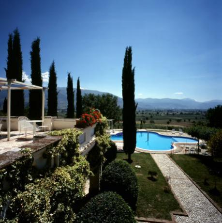 Appartamenti con Solarium vista panoramica Umbria