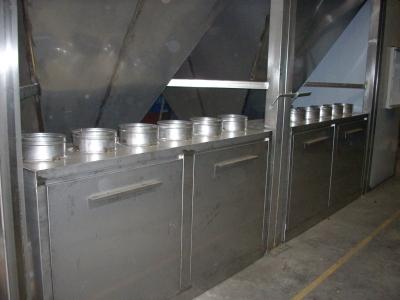sistema di raccolta ed essiccazione fanghi