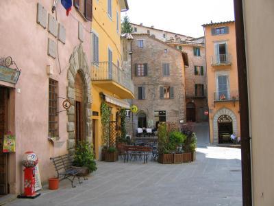 Piazza Fortebraccio di Montone
