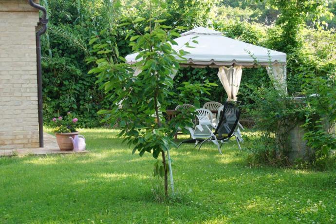 Villa a Macerata immersa nel verde