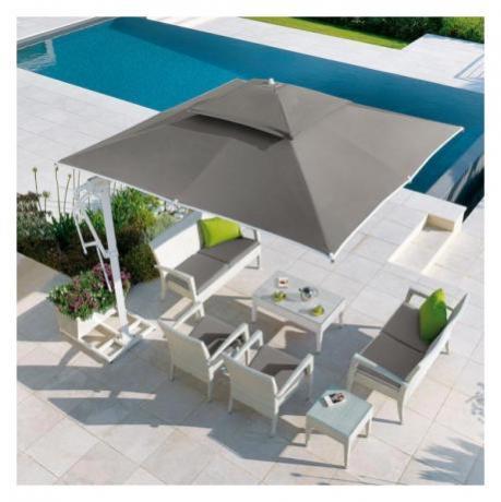 Pagoda rettangolare ideale per bordo piscina