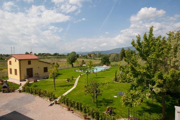 Casa Vacanze appartamento con piscina a Cortona