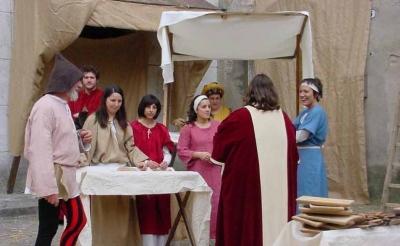 Medieval scenes in Narni