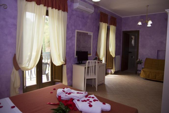Agriturismo nel Lazio-camera suite romantica