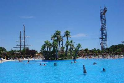 Entertainments and water shows at Aqualandia, Jesolo