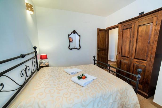 Appartamento Rosso seconda camera matrimoniale