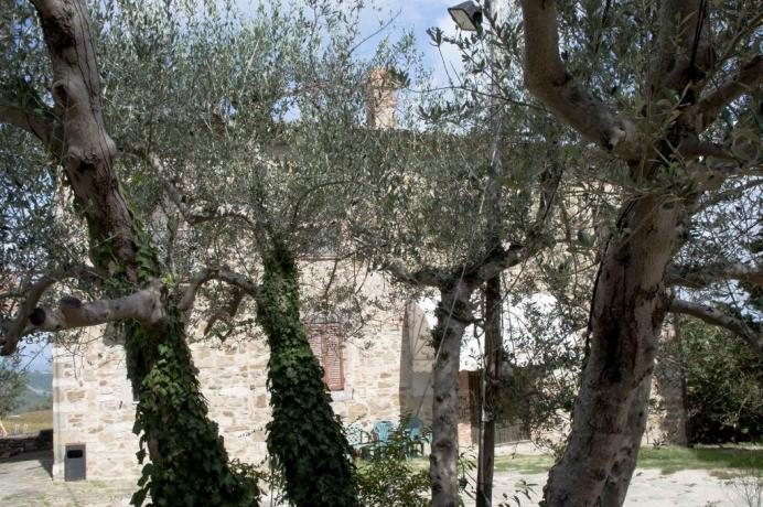 Appartamenti vacanza a Todi con piscina e colazione