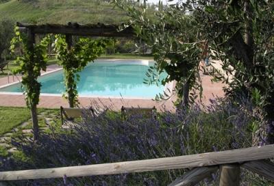Agriturismo Piscina tra Umbria e Toscana