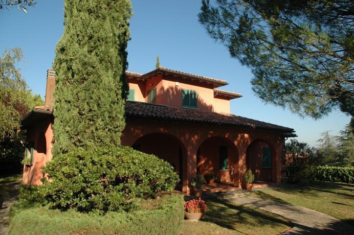 Villa Alice a Perugia - Piscina-Giardino Privata
