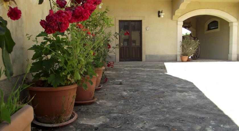 Cortile interno B&B Caltagirone